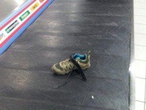 Je retrouve ma chaussure !!!
